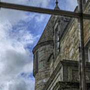 Castle Menzies From The Window Poster