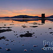 Loch Laich And Castle Stalker Poster