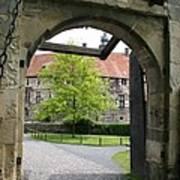 Castle Vischering Archway Poster