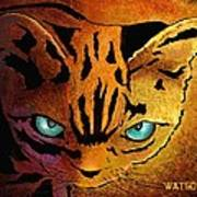 Cat. I'm Watching You Poster