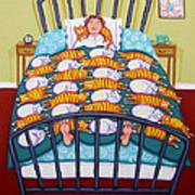 Cat Quilt Poster