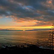Catalina Island Sunset Poster