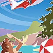 Catalina, Mid Century Travel Poster