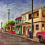 Catano Puerto Rico Street Poster
