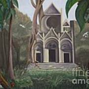 Cathedral In A Jungle Poster