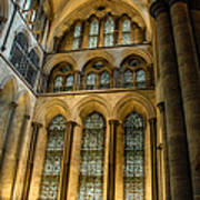 Cathedral Walls And Windows Poster