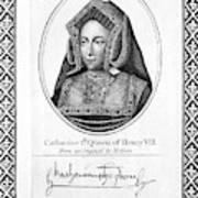 Catherine Of Aragon (1485-1536) Poster