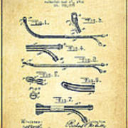 Catheter Patent From 1902 - Vintage Poster