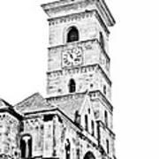 Catholic Cathedral In Alba Iulia Poster