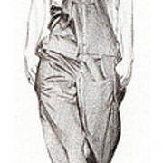 Catwalk Model Poster