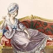 Cavaco A La Polonaise, Engraved Poster