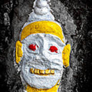 Cave Face 4 Poster