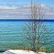 Cave Point County Park Door County  Poster