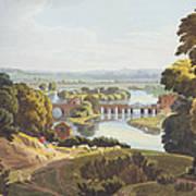 Caversham Bridge, Near Reading Poster by William Havell