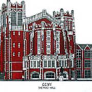 Ccny Shepard Hall Poster