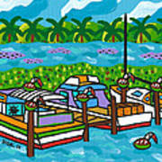 Cedar Key Bayou Poster