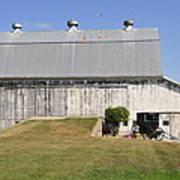 Cedar View Farm Barn Poster