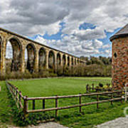 Cefn Viaduct Poster by Adrian Evans