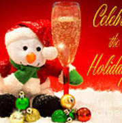 Celebrate The Holidays Poster