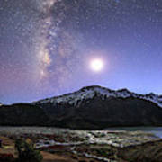 Celestial Sky With Milky Way Galaxy Poster