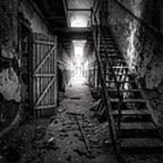 Cell Block - Historic Ruins - Penitentiary - Gary Heller Poster