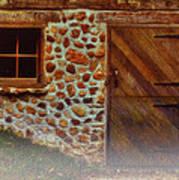 Cellar Door In The Mist Poster by Jack Zulli