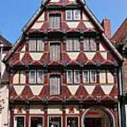 Celle Old Houses Poster