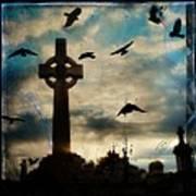 Celtic Blue Poster