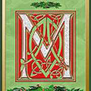 Celtic Christmas M Initial Poster