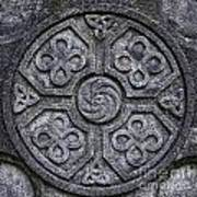 Celtic Cross Symbolism Poster