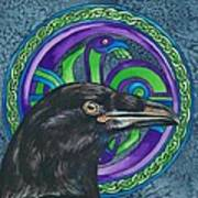 Celtic Raven Poster