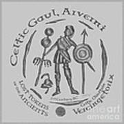 Celtic Vercingetorix Coin Poster