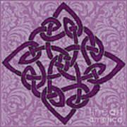 Celtic Wedding Knott Poster