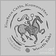Celtic Wreath Rider Coin Poster