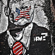 Censorship Expressed Mural Poster