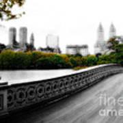 Central Park Bridge 2 Poster