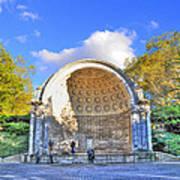 Central Park's Naumburg Bandshell Poster