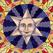 Ceramic Star Poster by Anna Skaradzinska