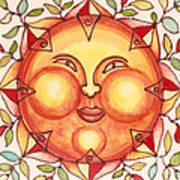 Ceramic Sun 2 Poster by Anna Skaradzinska