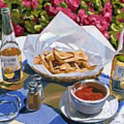 Cervezas Y Nachos - Coronas With Nachos Poster