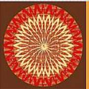 Chakra Mandala With Crystal Stone Healing Energy Plates By Side  Navinjoshi Rights Managed Images Fo Poster