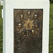 Challenger Monument Poster