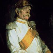 Chancellor Otto Von Bismarck Poster