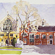 Chapel And Hall  Lincoln's Inn Poster