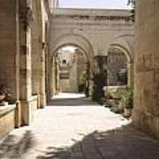 Chapel Of Condemnation Jerusalem Poster