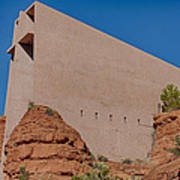 Chapel Of The Holy Cross Sedona Az Side Poster