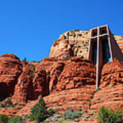 Chapel Of The Holy Cross Sedona Poster
