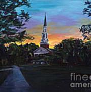 Chapel Sunset Poster