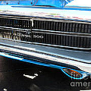 Charger 500 Front Grill And Emblem Poster