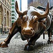 Charging Bull 1 Poster